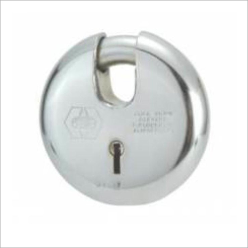 90 mm Round Stainless Steel Padlock