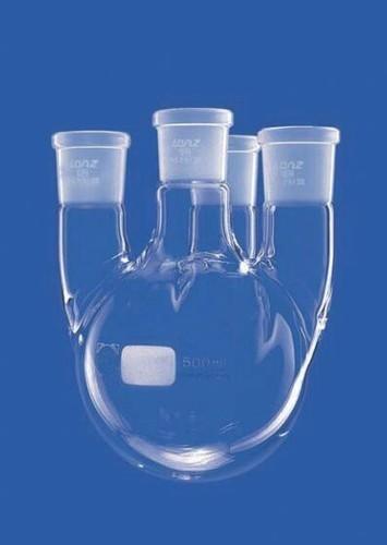 """Round Bottom Flask, Four Necks """"A""""1000ml"""