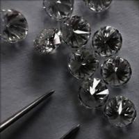 Cvd Diamond 3.40mm DEF VS SI Round Brilliant Cut Lab Grown HPHT Loose Stones TCW 1