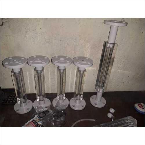 Acrylic Body Flange Rotameter
