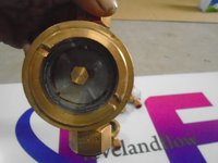 Brass Oil Flow Indicator