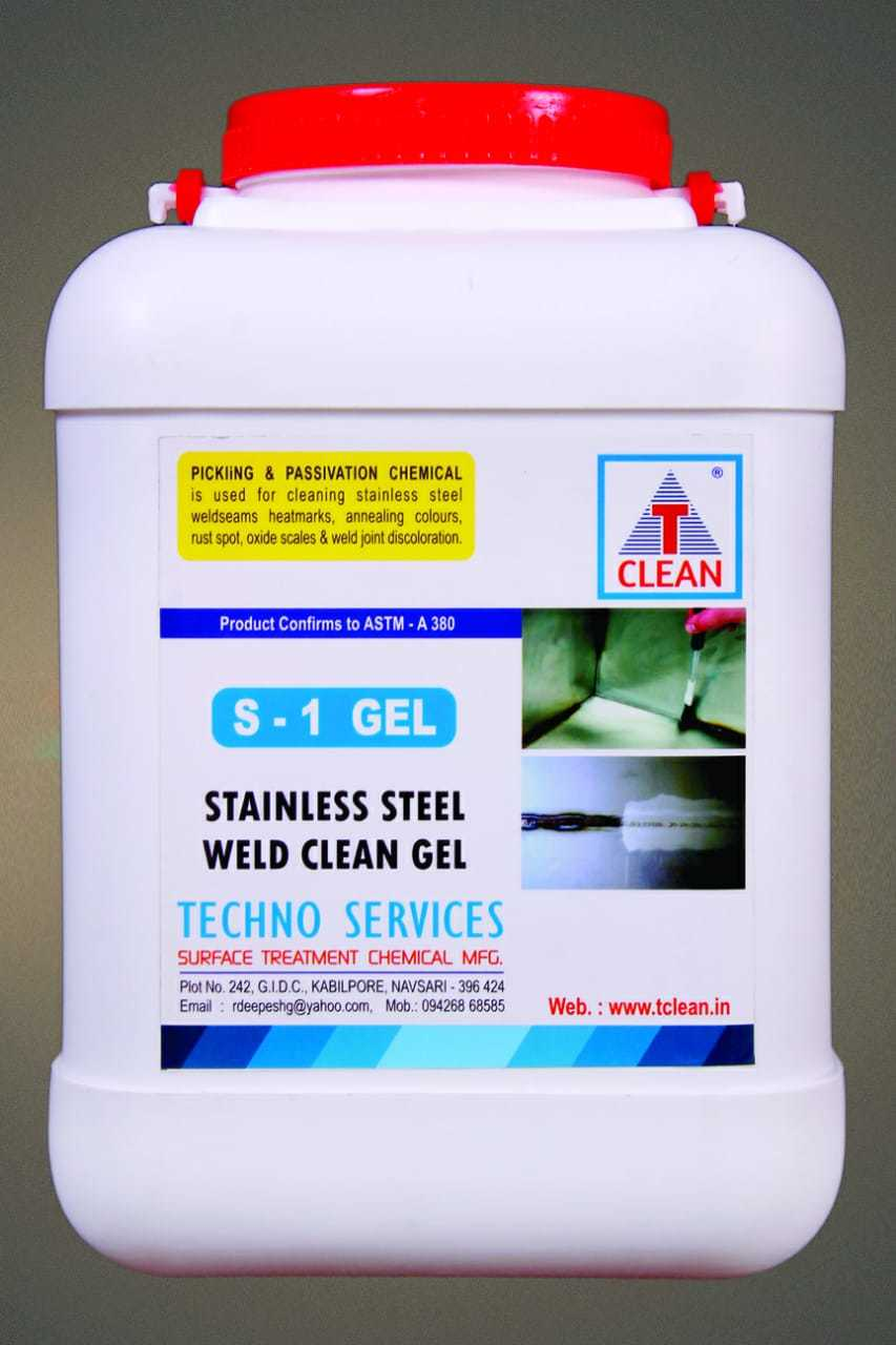 Weld Cleaner Stainless Steel Pickling Paste