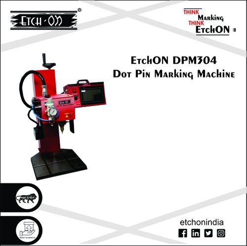 Pneumatic Dot Pin Marking Machine, DPM304 (Standalone cum Portable)