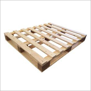Pine Wood Four Way Pallet