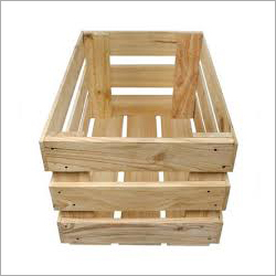 Open Wooden Crate