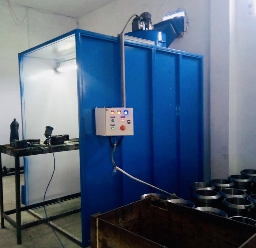 Dry Type Liquid Paint Booth
