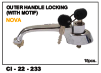 Outer Handle Locking (With Motif) Nova