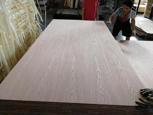 Red Oak Veneer Laminate Furniture Block Boards