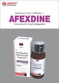 Fexofenadine 30mg/5ml