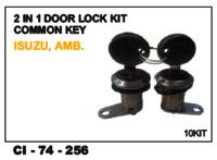 2 In 1 Door Lock Kit Common Key Amb
