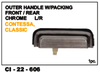 Outer Handle W/Packing Front/Rear  Classic  L/R