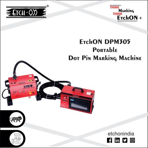 Pneumatic Dot Pin Marking Machine DPM305 (Portable)