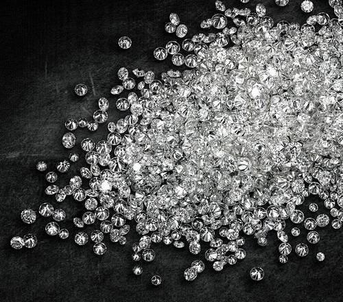 Cvd Diamond 1.50mm GHI VVS VS Round Brilliant Cut Lab Grown HPHT Loose Stones TCW 1