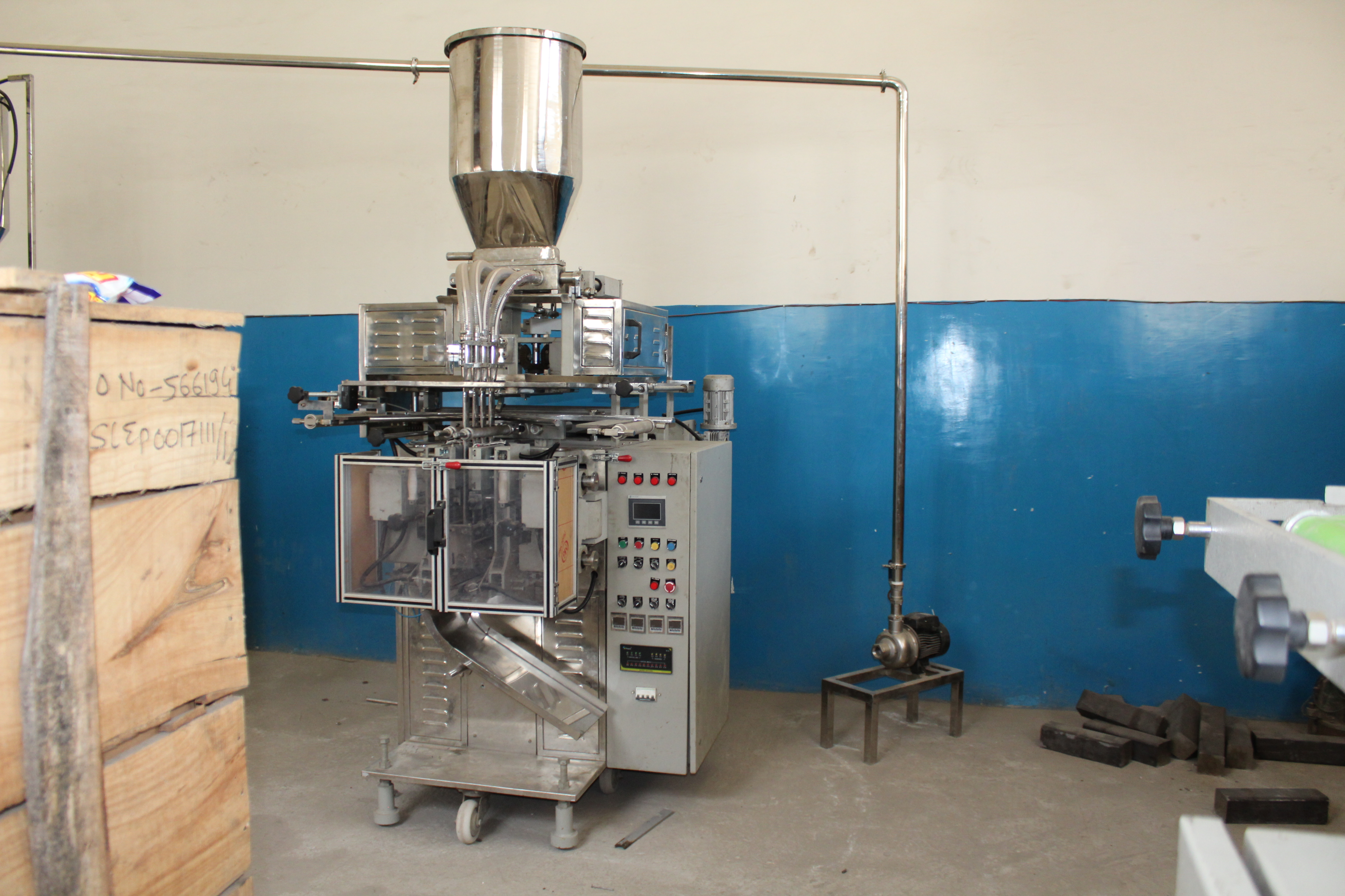 3 Lane Sachet Packaging Machine