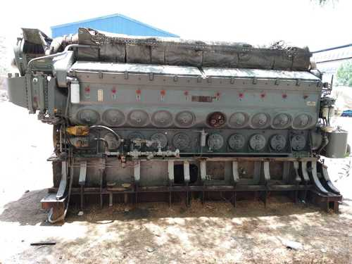 EMD L20-710 Complete Engine
