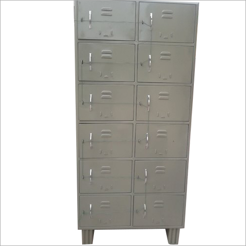 12 Compartment Mild Steel Laptop Locker