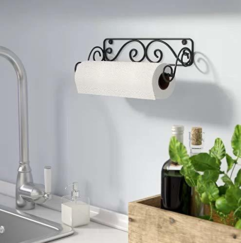 Wall Mounted Paper Towel Holder for Kitchen, Toilet, Bar, Office, Restaurant
