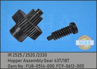 Hopper Assembly Gear 43T/18T