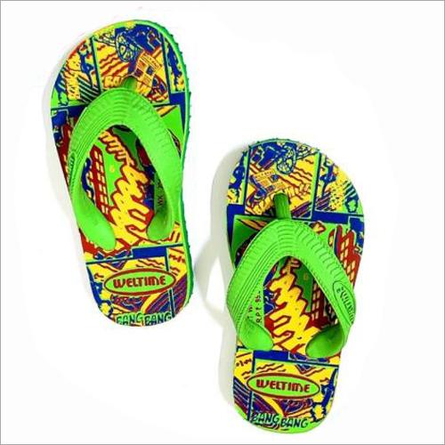 Kids Printed Slippers