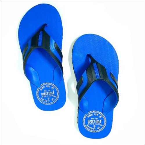 Kids Blue Flip Flop Slippers