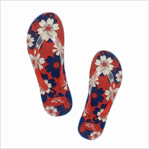 Girls Floral Printed Slippers