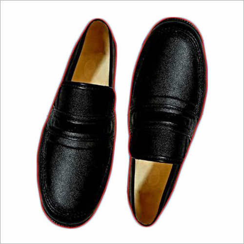Mens Leather Slip On Shoes