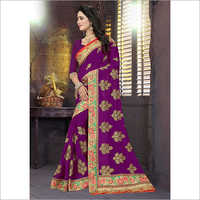 Georgette Heavy Work Saree