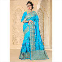 Embroidery Work Zoya Art Silk Saree
