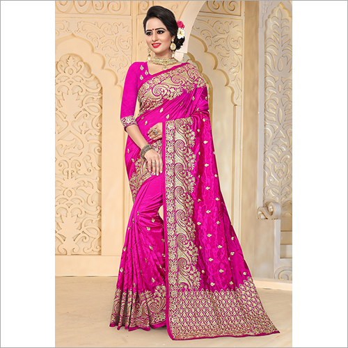 Embroidered Partywear Saree