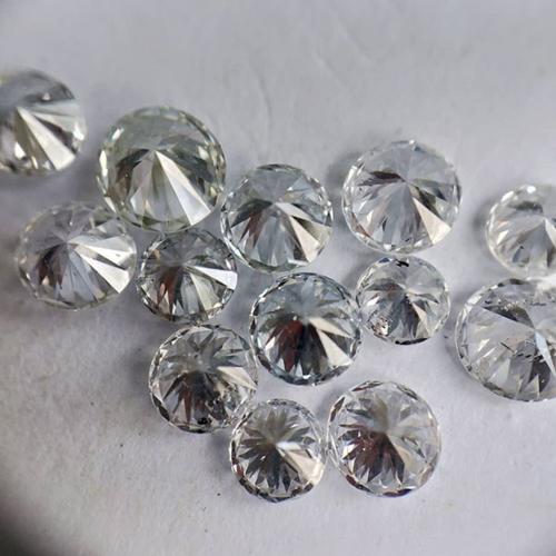 Cvd Diamond 2.20mm GHI VVS VS Round Brilliant Cut Lab Grown HPHT Loose Stones TCW 1