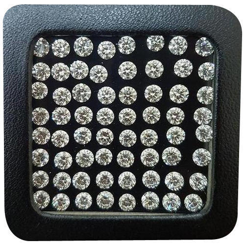 Cvd Diamond 2.50mm GHI VVS VS Round Brilliant Cut Lab Grown HPHT Loose Stones TCW 1