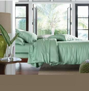 Natural health 300TC king size bamboo bed sheets