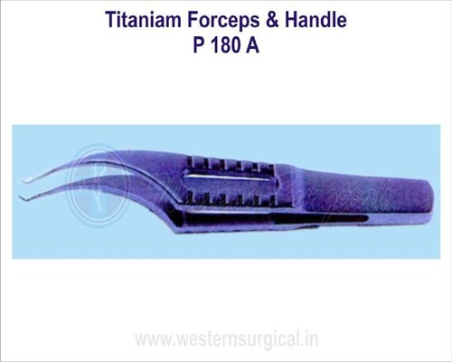 Titanium Forceps & Handle