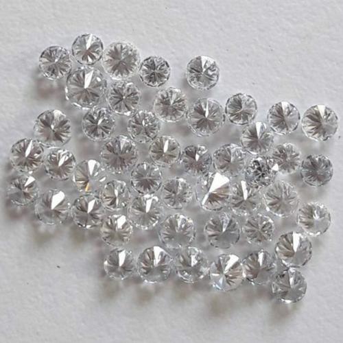 Cvd Diamond 2.60mm GHI VVS VS Round Brilliant Cut Lab Grown HPHT Loose Stones TCW 1