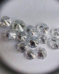 Cvd Diamond  2.80mm GHI VVS VS Round Brilliant Cut Lab Grown HPHT Loose Stones TCW 1