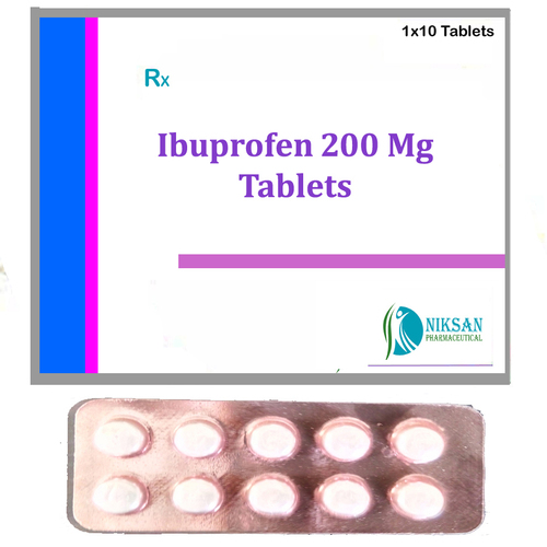 Ibuprofen 200 Mg Tablets
