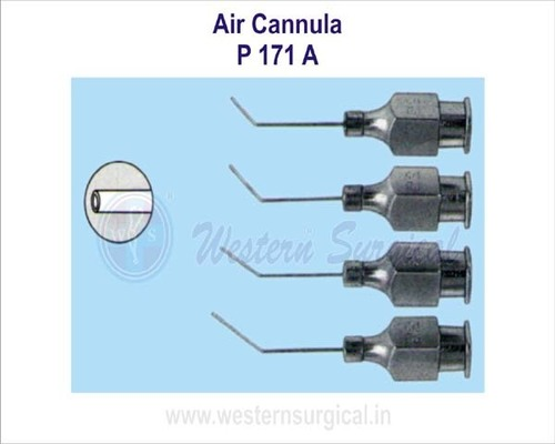 Air wash cannula
