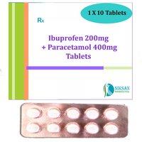 Ibuprofen Paracetamol Tablets