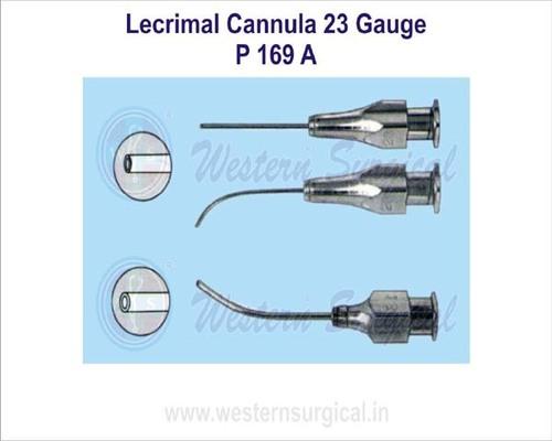 Lecrimal cannula 23 gauge