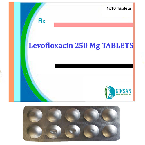 Levofloxacin 250 Mg Tablets