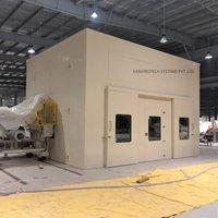 Acoustical Enclosure For Punch Press