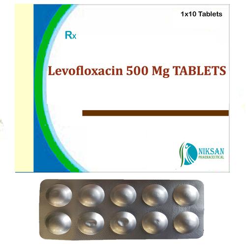 Levofloxacin 500 Mg Tablets