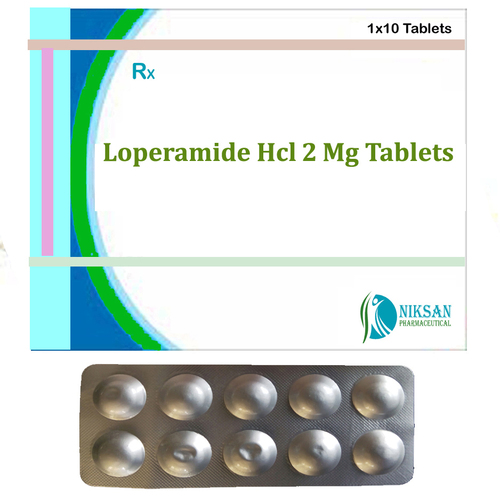Loperamide Hcl 2 Mg Tablets