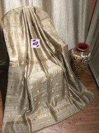 Handloom Matka Silk Jamdani Sarees