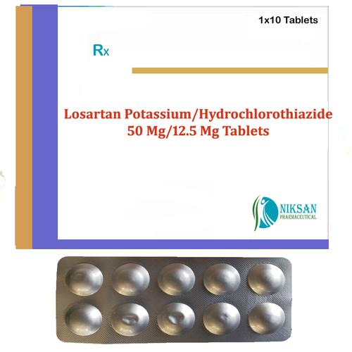 Losartan Potassium Hydrochlorothiazide Tablets
