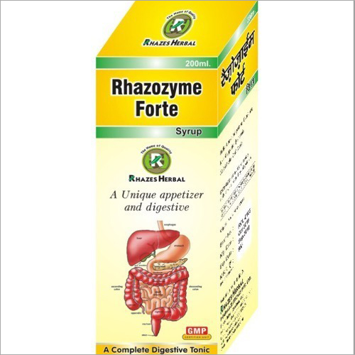 Herbal Rhazozyme Forte Digestive Syrup