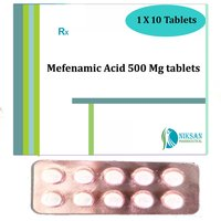 Mefenamic Acid 500 Mg Tablets