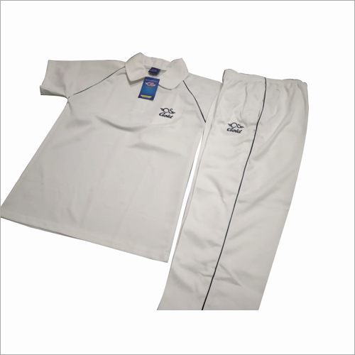 White Cricket Uniform