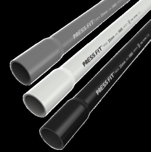 Press Fit FRLS Electrical PVC Conduit Pipes