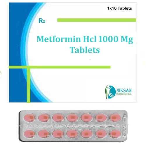 Metformin Hcl 1000 Mg Tablets